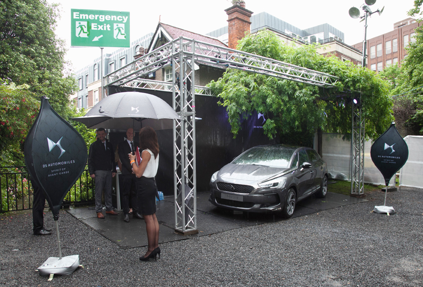 DS Automobiles at Taste of Dublin, Iveagh Gardens, Dublin. June 2016.